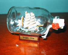 Ship in a Bottle US COAST GUARD EAGLE  Excellent! New from England
