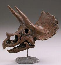 Kaiyodo Capsule Q Triceratops Skull Gashapon PVC Mini Figurine