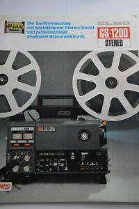 Prospekt Elmo GS1200