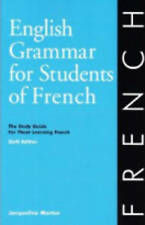 English Grammar for Students of French Study Guide Learn French Jacquelin Morton