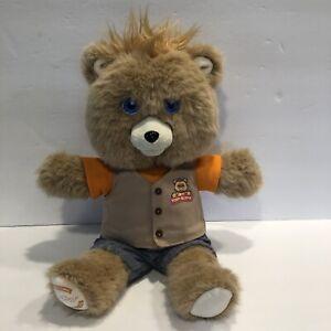 Teddy Ruxpin 2017 Animated Storytelling Bear Bluetooth LCD Eyes Tested Works