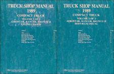 1989 Ford Shop Manual Set Ranger Bronco II Aerostar Original Reparatur-Service