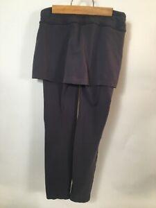 Athleta Yoga Gym Workout Pants Gray Size XS Waist 28 Hips 32 Length 22