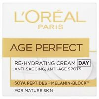 L'Oreal Paris AGE PERFECT  Re-Hydrating Day Cream 50 ml.Brand New
