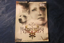 Haunting Ground strategy guide brady games
