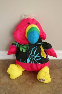 Vintage 1987 Fisher Price Puffalump Wild Things Toucan Stuffed Animal Plush Toy