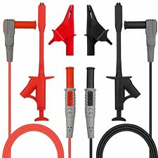 Tacklife Electronic Test Leads Kit Digital Multimeter Leads With Test Extension