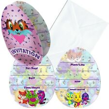 Hatchimals Invitations 8ct. Party Supplies. HUGE Saving
