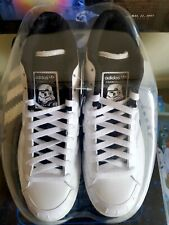 adidas Star Wars Stormtrooper Trainers NEW Mid Skate Size 8  Vintage 2010