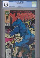 Uncanny X-Men #264 CGC 9.6 1990 Marvel Rubinstein Art Jim Lee Cover New Frame