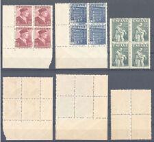 1946 FIESTA DE LA HISPANIDAD BLOQUE DE 4 EDIFIL 1002/04 ** MNH    TC12187