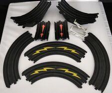 "Tomy Aurora Loop Track And Four 9"" Curve Tracks 1/4 Circle #503349"