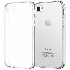 COQUE iPHONE 4 4S TRANSPARENT CLEAR GEL SILICONE SOUPLE (TPU)