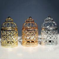 Metal Moroccan Lantern Candlestick Candle Holder Tea Light Wedding Decor Fashion