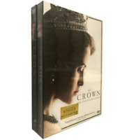 The Crown: Complete Season 1-2 (DVD, 2018, 8-Disc) New Sealed Free Shipping US
