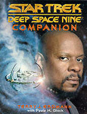 DEEP SPACE NINE COMPANION: STAR TREK DEEP SPACE NINE By Terry J. Erdmann, VG
