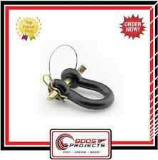 Smittybilt Quick Disconnect D-Ring Shackle 4.75 Tons Black * 13049B *