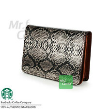 SA044 Starbucks Coffee Chinese New Year snake Serpentinite Leather with Box NEW