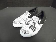 Wonder Woman DC Comics Low Top WOMENS Shoes SLIP ON SIZE 9/10 ADULT LARGE