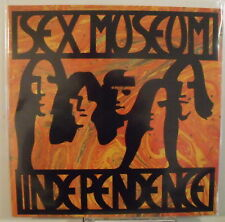 """SEX MUSEUM - IDEPENDENCE - LP Gatefold + 7"""" GET LOST / FREE LIVING - Mint"""
