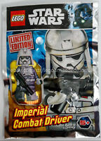 ORIGINAL LEGO STAR WARS LIMITED EDITION IMPERIAL COMBAT DRIVER 911721 Foil Pack