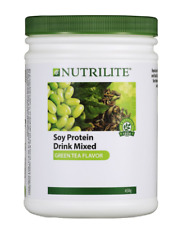 4 x 450g Amway Nutrilite Soy Protein Drink Low Fat Green Tea Flavor EXPRESS SHIP