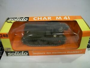 Solido Char M41 Tank  #248 in box