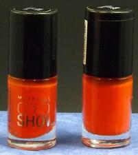 Maybelline Color Show Nail Lacquer (Lot of 2)  # 220  Orange Fix