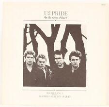 Pride (In The Name Of Love)  U2 Vinyl Record