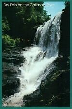 Dry Falls along US 64 near Highlands North Carolina NC, Waterfall --- Postcard
