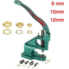 vert Presse à main machine boutons-pression oeillets rivets boutons à pression