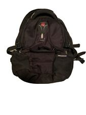 SwissGear SCANSMART Laptop Backpack With Laptop padded Compartment -Black- Clean