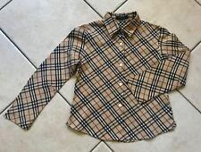 a4a98e2fe15c15 Chemises et chemisiers Burberry pour fille de 2 à 16 ans   Achetez ...