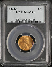 1948-S Lincoln Wheat Cent PCGS MS-66RD -106485
