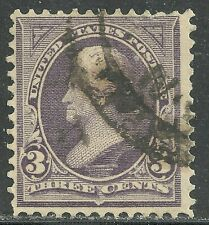 U.S. Stamp scott 268 - 3 cent Jackson issue of 1895