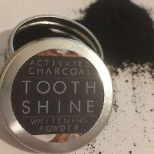 Carbocare DIENTE BRILLO ™ Orgánica Polvo de blanqueamiento de coco carbón activado 10g