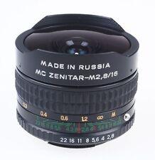 MC Zenitar-M 2,8 16mm 16 mm Fisheye z.B. für Leica R Leica-Fachhändler * B412