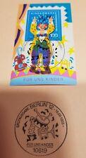 Sammler-Karte Kindermarke 16.09.1993 Erstausgabe. Bestzustand. Postdienst