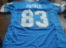 RARE Philadelphia Bell WFL Autograph Eagles Vince Papale Invincible Jersey JSA