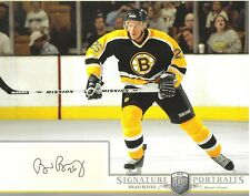 2006-07 BAP PORTRAITS - BRAD BOYES  8 X 10  AUTOGRAPHED PHOTO