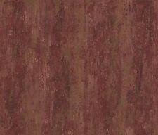 Rasch Papel pintado Angelica 009558 Textil Vinilo Rojo Oscuro Estructura Satén