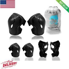 Elbow Pads and Knee Pads for Kids, 6-in-1 Kids Protective Gear Set Elbow Pads &