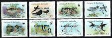 WWF Barbuda 1987, Mi.#953-961, Sc.#857-864, fish, birds, MNH! VERY SCARCE!!!
