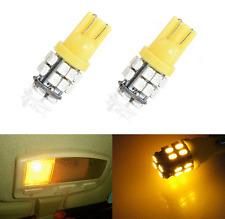 2pcs LED T10 20SMD W5W 194 168 501 Car Auto Side Wedge Light Bulbs 12V Amber New