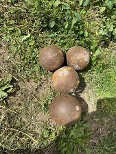 Antique Cannon Balls