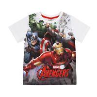 Marvel Avengers Official - Boys - T-shirt - Captain America Hulk Thor