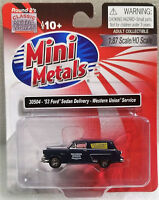 Classic Metal Works HO 30504 '53 Ford Sedan Delivery, Western Union Service, New