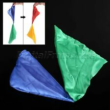 1Pc Practical Change Color Silk Scarf For Magic Trick Props Magic Tools Toys