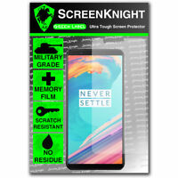 ScreenKnight OnePlus 5T SCREEN PROTECTOR Military Shield