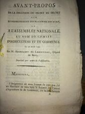 DESSECHEMENT DES MARAIS DU ROYAUME 1790